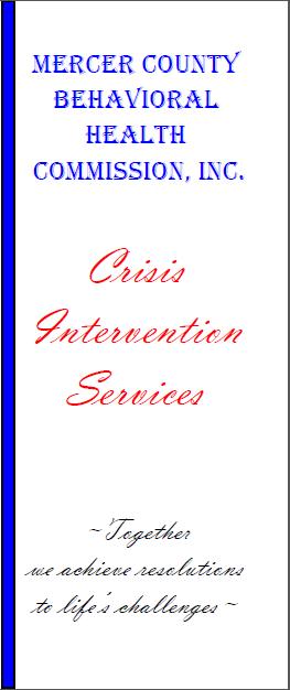 Crisis Intervention brochure