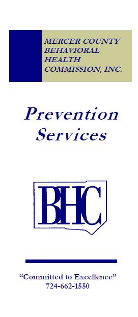 Prevention Services brochure
