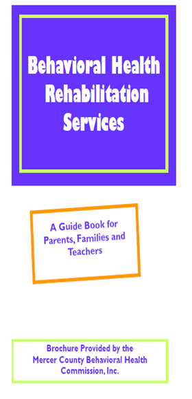 Rehabilitation Services Brochure